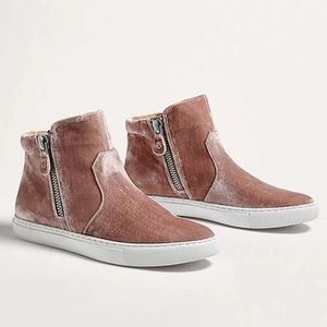 Gentle Souls Carole High- top Leather Sneakers